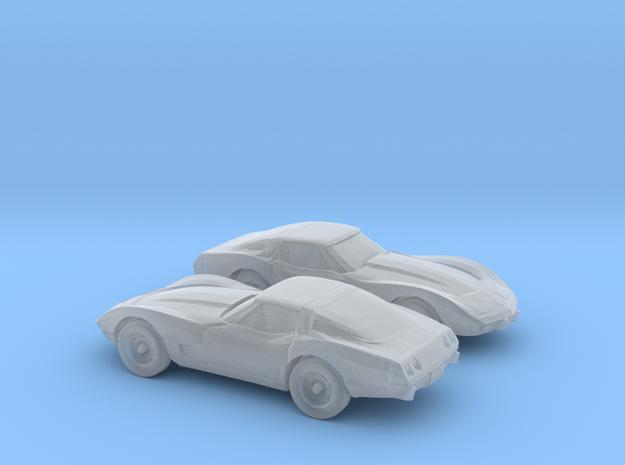 1/144 1979 Chevrolet Corvette in Smooth Fine Detail Plastic