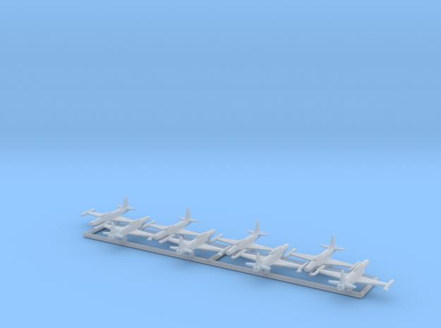 F-94B w/gear x8 (FUD) in Smooth Fine Detail Plastic: 1:700