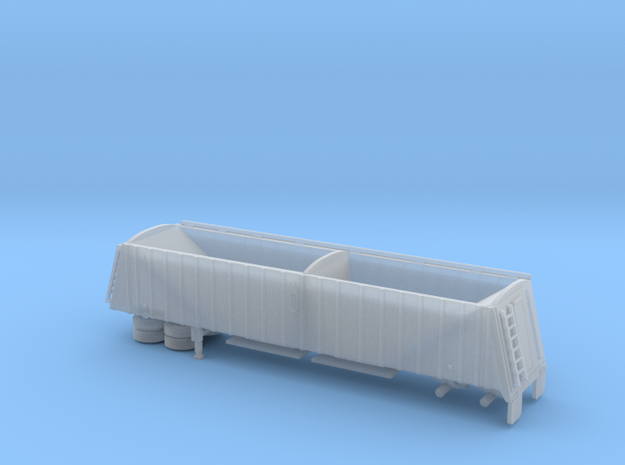 1/120 42' Semi Grain Trailer Kit in Smooth Fine Detail Plastic