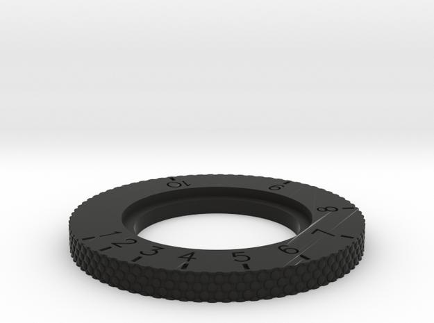 DL-44 ANH Scope Upper Wheel  in Black Premium Versatile Plastic