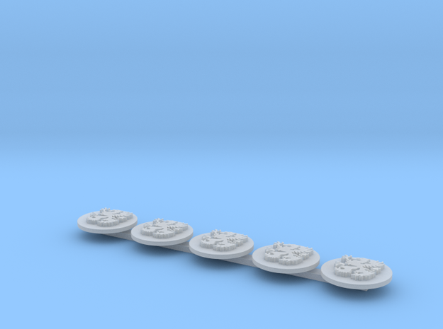 Griffons Drop Pod Icons L in Smooth Fine Detail Plastic