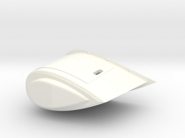 1.8 CAPOT LATERAL AC in White Processed Versatile Plastic