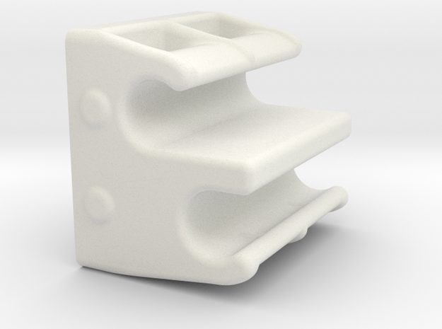 RG BK Ack Position Quick Adjuster v1.4 in White Strong & Flexible