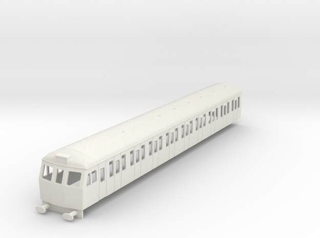 O-76-cl504-driver-trailer-coach in White Natural Versatile Plastic