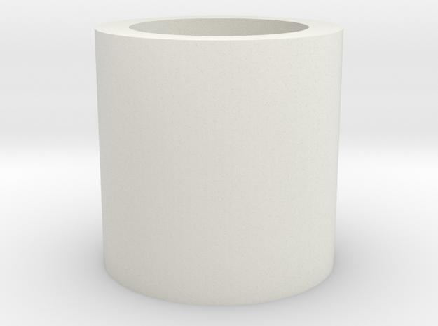 "Neopixel Hilt Plug 7/8"" V2 in White Natural Versatile Plastic"