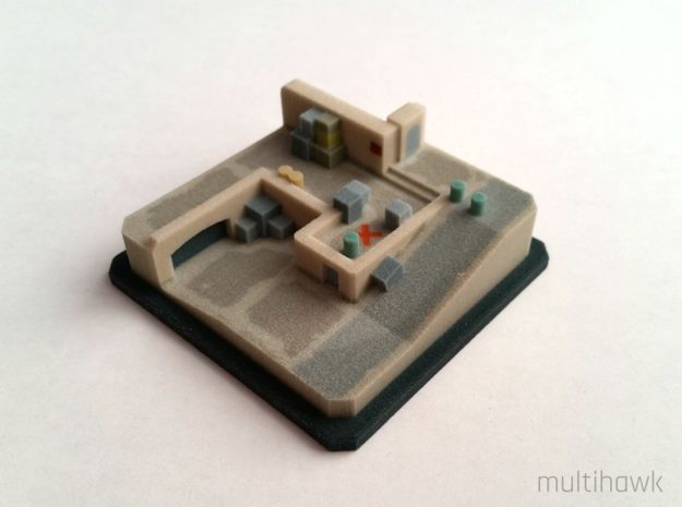 Counter-Strike: GO® Pocket Dust II: A Site in Full Color Sandstone