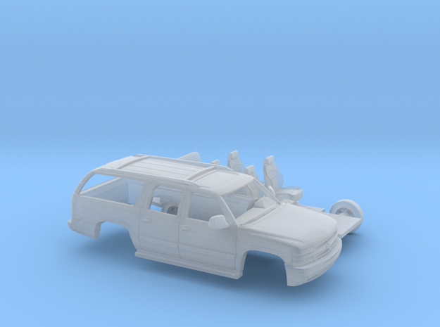 1/160  2000 Chevrolet Suburban Kit in Smooth Fine Detail Plastic
