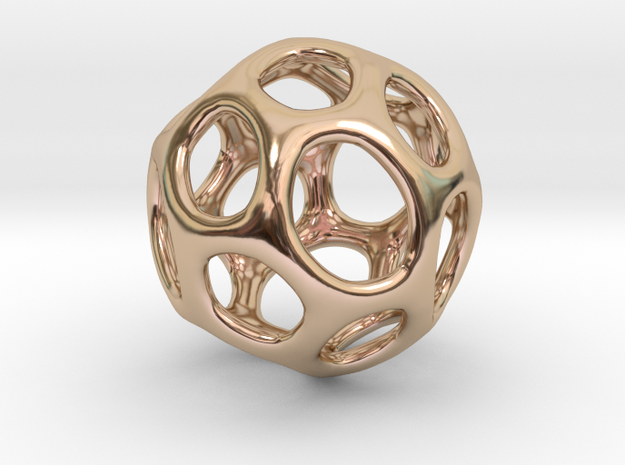 Gaia-20 (from $18.90) in 14k Rose Gold Plated Brass