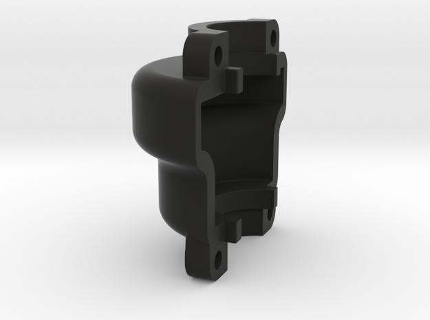 DravTech Mini Diff Cover in Black Natural Versatile Plastic