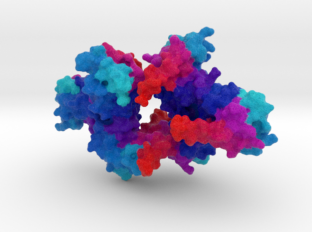 HIV Matrix Protein in Full Color Sandstone