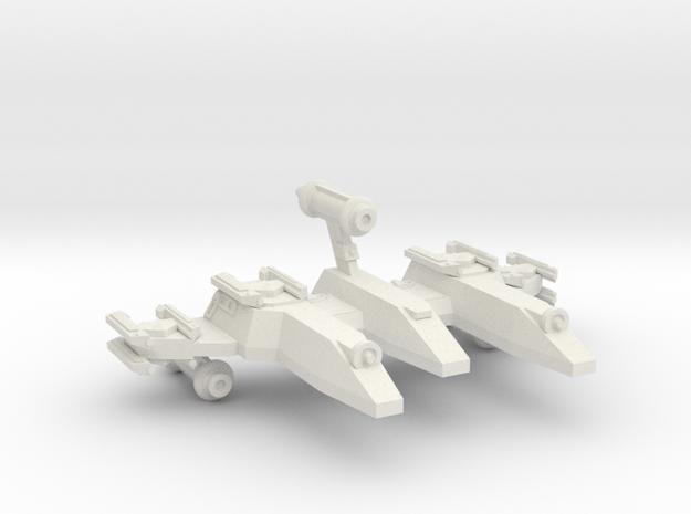 3125 Scale LDR War PF/Gunboat Tender CVN in White Strong & Flexible