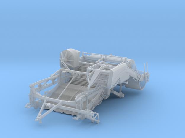 Spudnik 6640 main body in Smooth Fine Detail Plastic