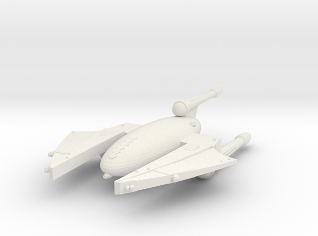 3125 Scale Drex Battlecruiser MGL in White Natural Versatile Plastic