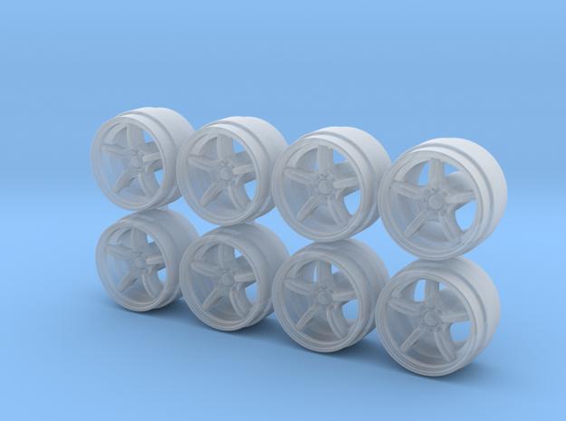 Mugen RNR Hot Wheels Rims in Smoothest Fine Detail Plastic