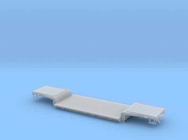 WP&Y Drop Center Flat Sn3 in Smooth Fine Detail Plastic