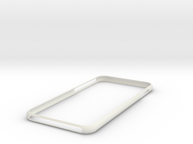 IPhone 8 +Plus   Bumper    NEW  ! in White Natural Versatile Plastic