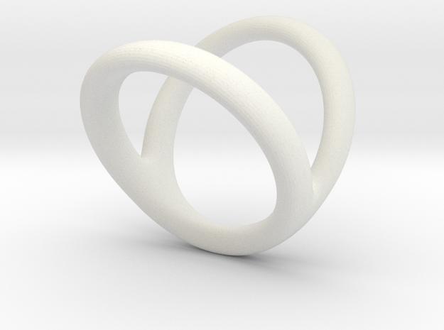 Ring 5 for fergacookie D1 2 D2 3 Len 17 in White Natural Versatile Plastic