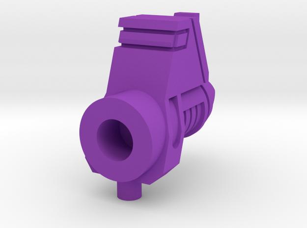 Galvatron Cannon Pt 1 in Purple Processed Versatile Plastic