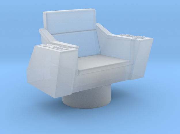 Bridge - Captain's Chair 32a (Model) in Frosted Ultra Detail