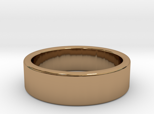 Simple Band in Polished Brass