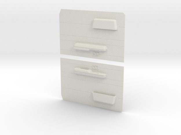 LC70 Door RHD in White Natural Versatile Plastic