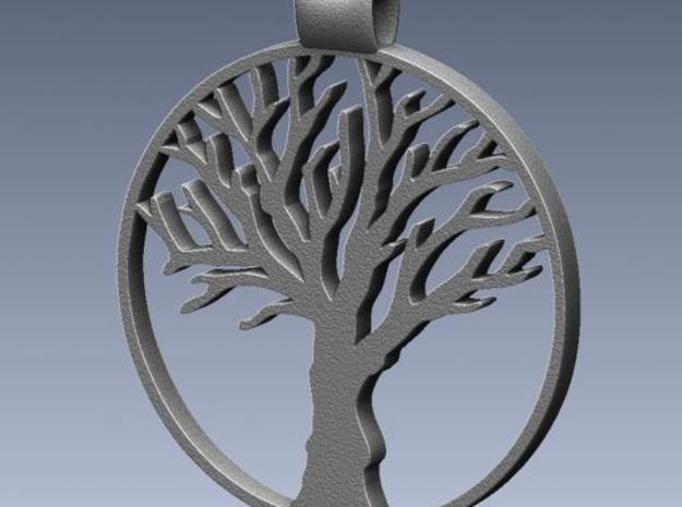 Tree Pendant 3d printed Rendered image