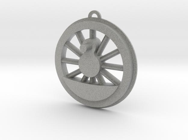 Steam Locomotive Drive Wheel Christmas Ornament