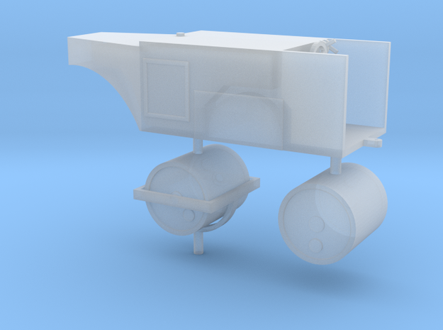 Straßenwalze ohne Verdeck 1:72 in Smooth Fine Detail Plastic