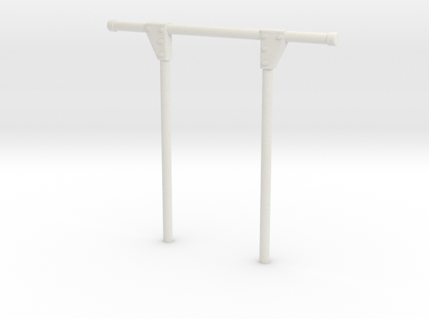 Überrollbügel TT 25mm in White Natural Versatile Plastic