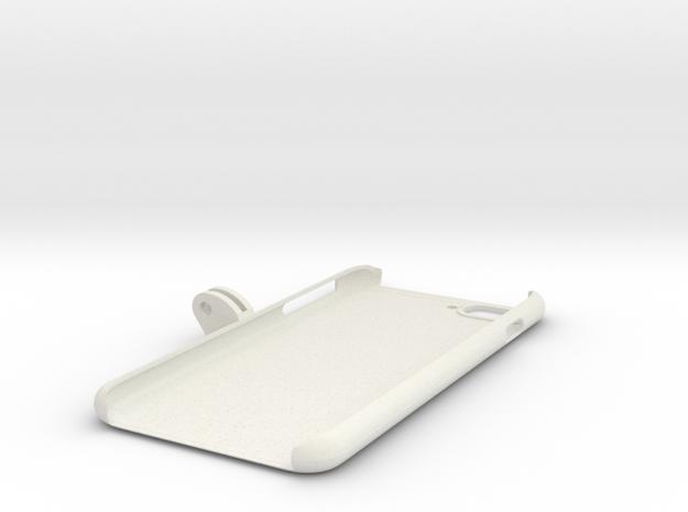 iPhone_7_Plus_GoPro_Mount in White Natural Versatile Plastic