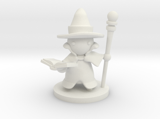 Wizard in White Natural Versatile Plastic