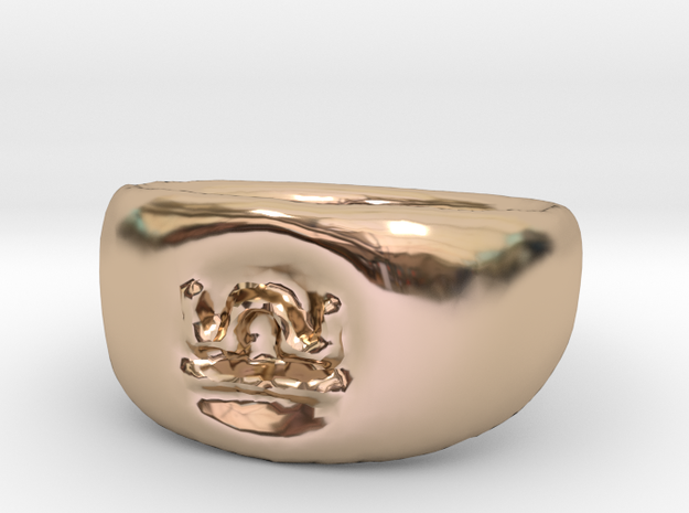 Libra Ring sz8 in 14k Rose Gold