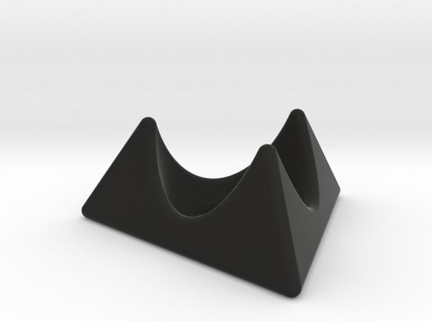 Klingon egg cup holder in Black Natural Versatile Plastic