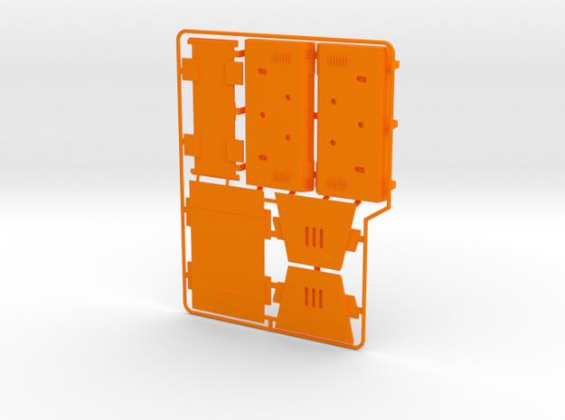 AT-ACT Removeable Cargo Pod Kit in Orange Processed Versatile Plastic