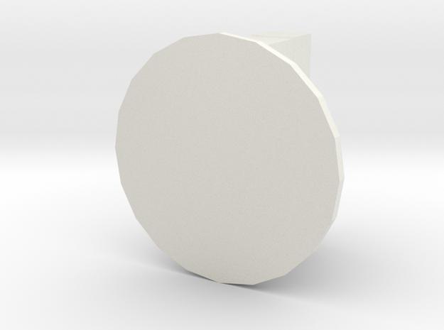 BoomBox GamePiece in White Natural Versatile Plastic