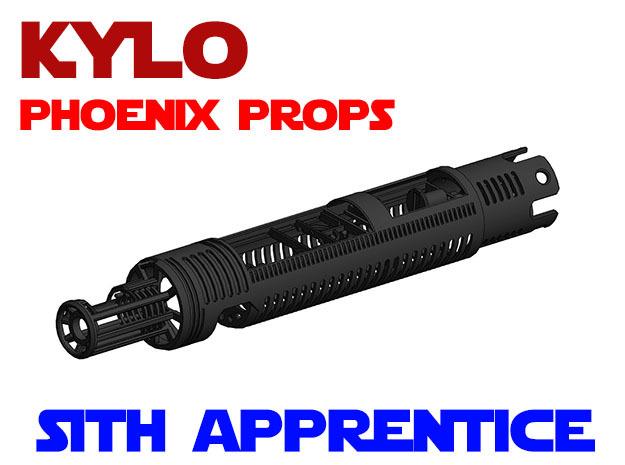 Phoenix Props - Kylo - Sith Apprentice Chassis in White Natural Versatile Plastic
