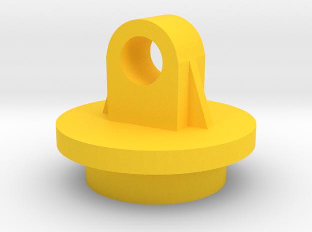 Tamiya Shock Bottom (Part X-8) in Yellow Processed Versatile Plastic