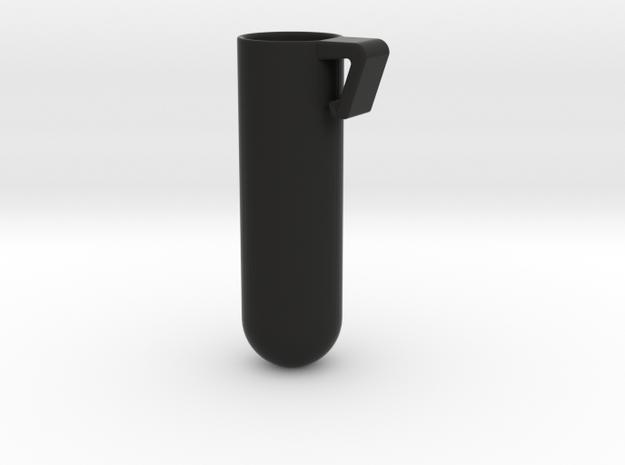 Toothbrush Holder in Black Natural Versatile Plastic