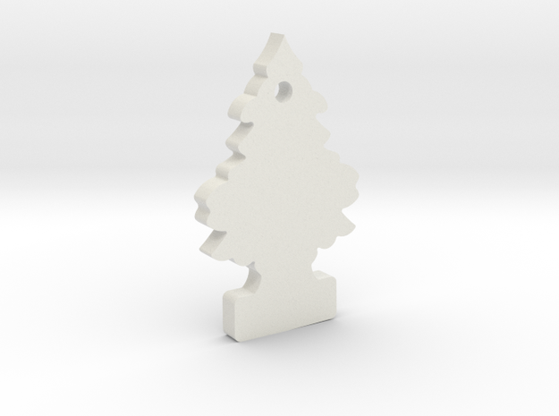 1/10 Scale Royal Pine Air Freshener in White Natural Versatile Plastic