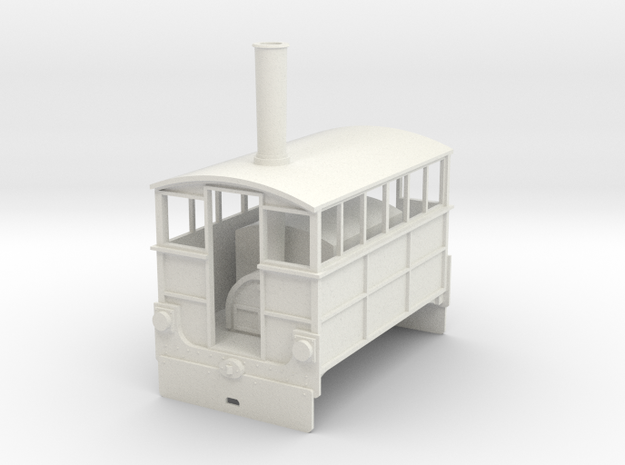 Wantage Tramway no4 gauge 1  in White Natural Versatile Plastic