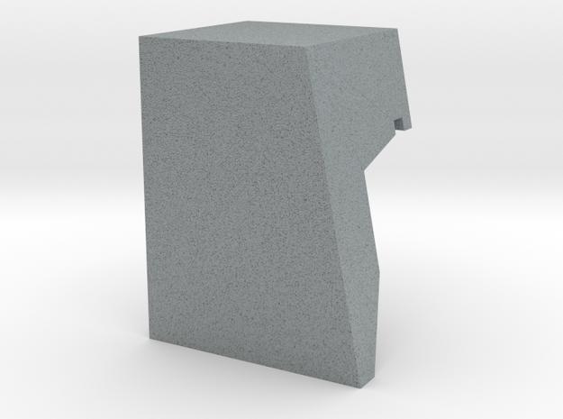 Thorens Turntable TP-60 Overhang Alignment Gauge in Polished Metallic Plastic