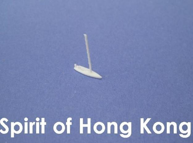 Spirit of Hong Kong 3d printed 1:1200 scale model of the Spirit of Hong Kong