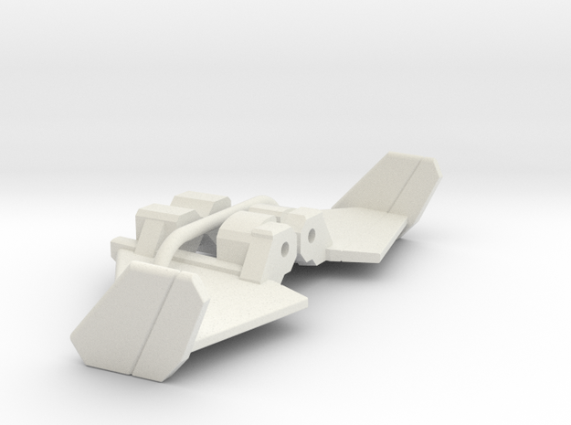 Thrust stablizers for CW Air Raid in White Natural Versatile Plastic