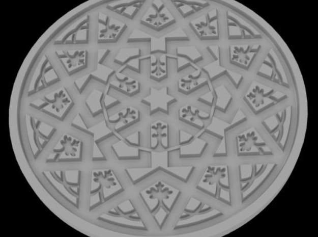 Ceramic Tile Mold 3d printed Description