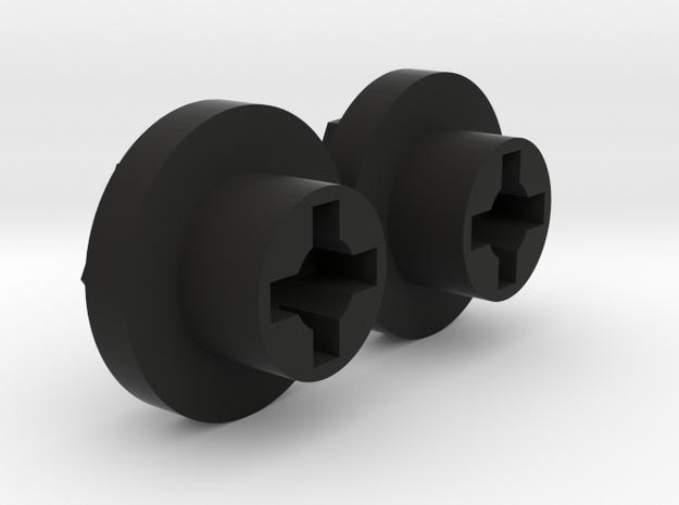 Drive Wheel Hex adapter Hunter/Galaxy in Black Strong & Flexible