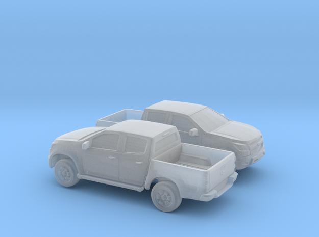 1/160 2X 2013-16 Chevrolet S10-Colorado in Smooth Fine Detail Plastic