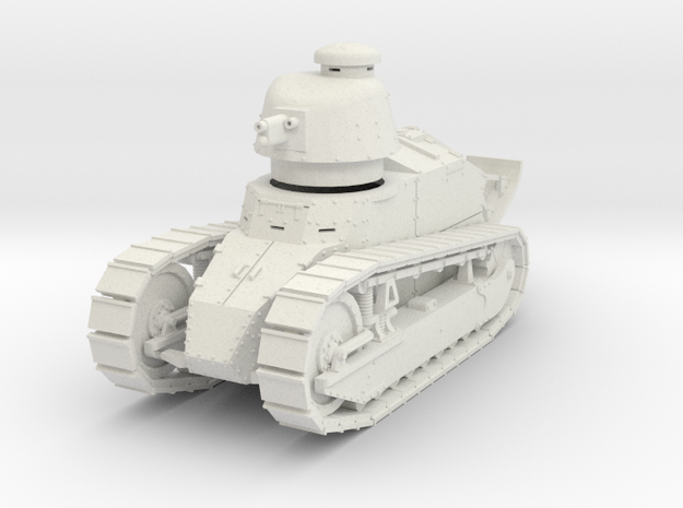 PV07D Renault FT Char Cannon (Girod turret)(1/43) in White Strong & Flexible