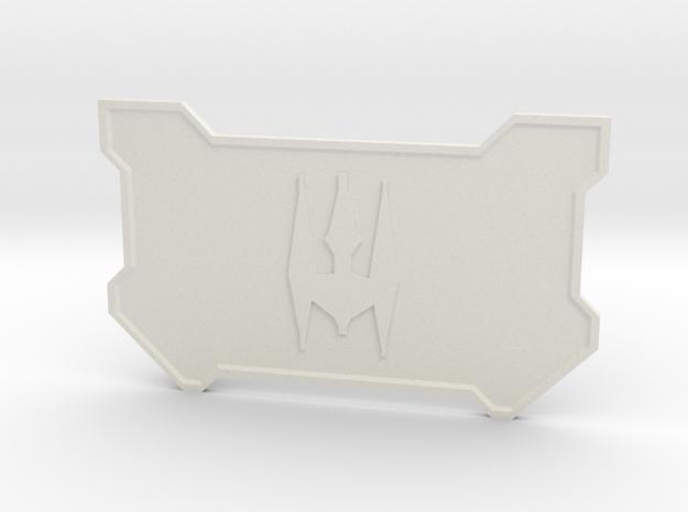 The Mercenary in White Premium Versatile Plastic