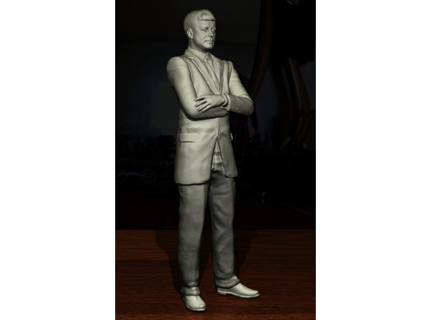 SE JFK figure in Smooth Fine Detail Plastic