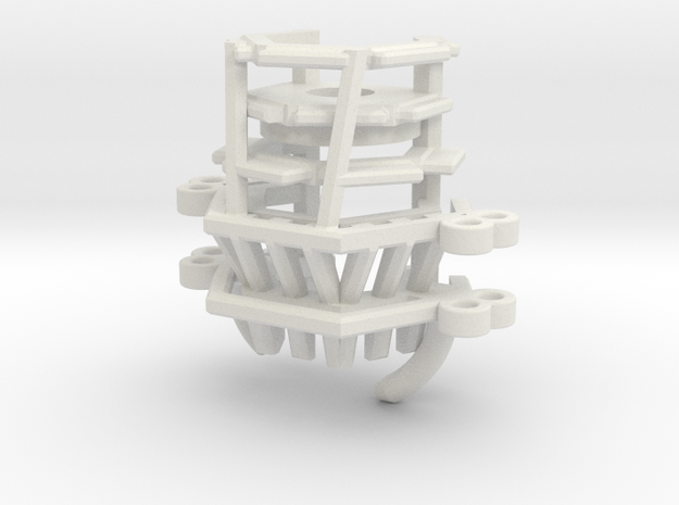 Phoenix Props - Kylo - Sith Master Part 2 CC1 in White Natural Versatile Plastic